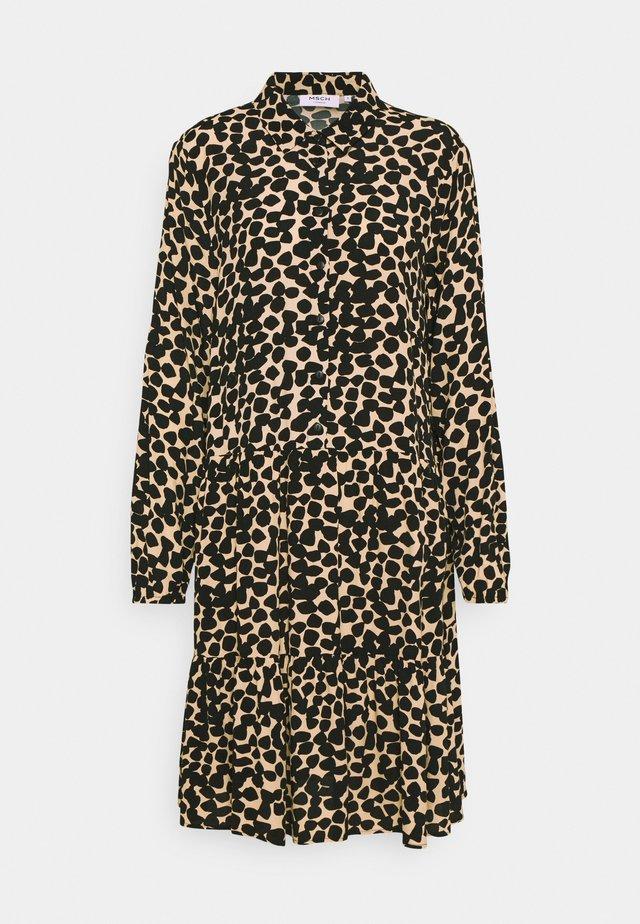 BAHIRA JALINA SHORT DRESS - Paitamekko - semolina