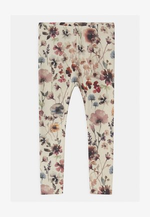 NMFSAIA - Leggings - Trousers - peyote melange