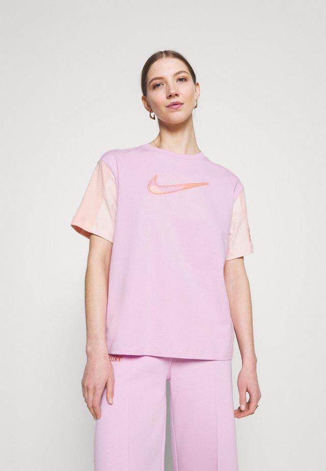 Print T-shirt - arctic pink