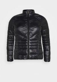 Vero Moda Curve - VMSORAYASIV SHORT JACKET CURVE - Light jacket - black - 4