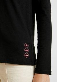 Q/S designed by - Top sdlouhým rukávem - black - 5