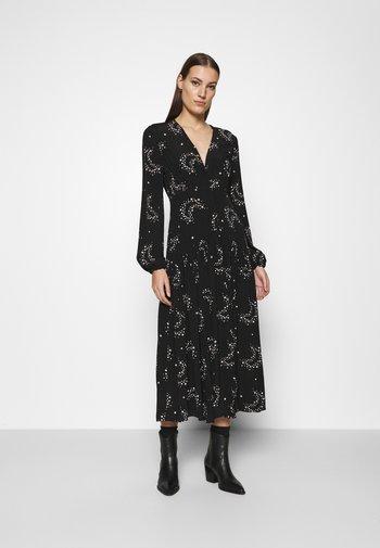 LOTTE DRESS - Abito a camicia - black