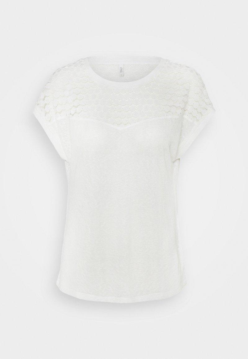 ONLY - ONLNEW MIX - Print T-shirt - cloud dancer