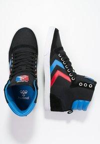 Hummel - SLIMMER STADIL - Sneakers hoog - black/blue/red - 1