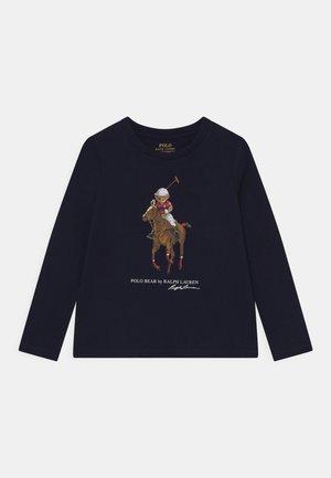 BEAR TEE - T-shirt à manches longues - hunter navy
