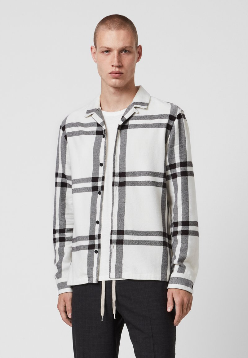 AllSaints - ANCHORAGE - Shirt - white