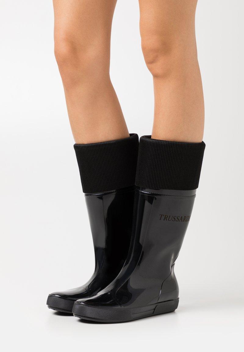 Trussardi - BOOT - Wellies - black