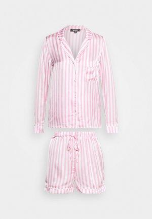 STRIPE SET - Pyjamas - pink