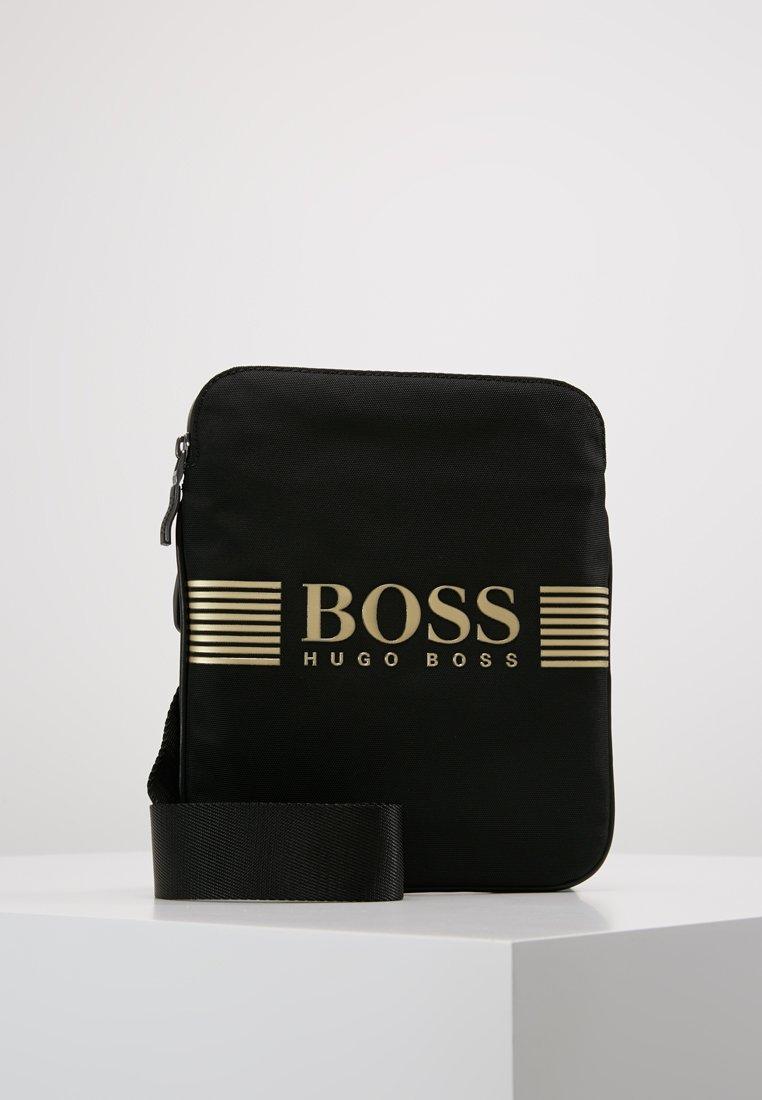 BOSS - PIXEL ZIP - Axelremsväska - black