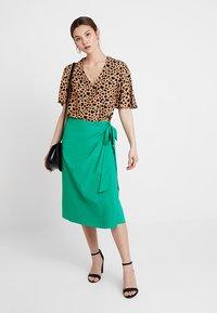 mint&berry - A-line skirt - green - 1