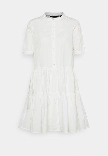 VMDELTA DRESS - Shirt dress - snow white