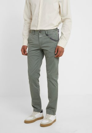 CLIFTON SKINNY - Chino kalhoty - faded green