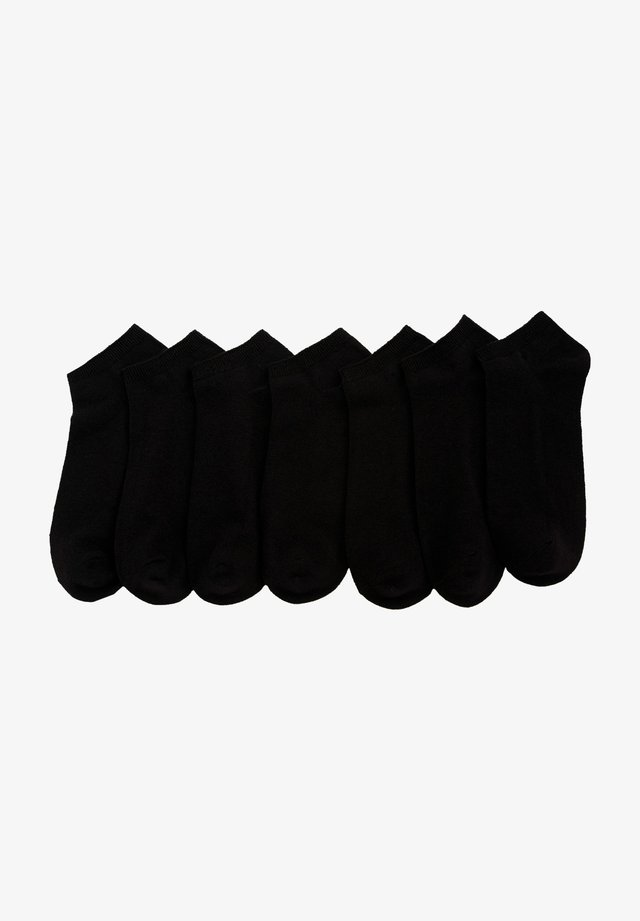 7 PACK - Calzini - black