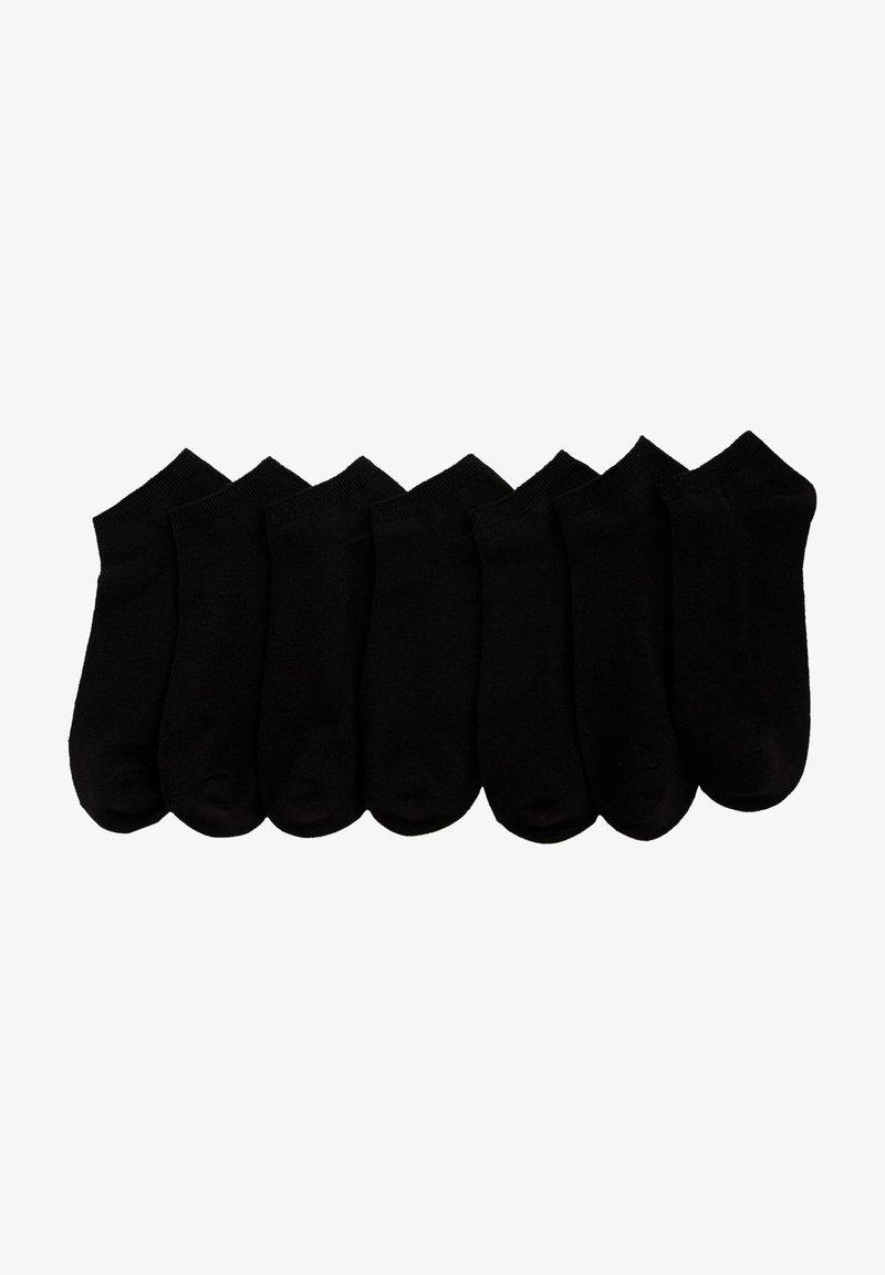 DeFacto - 7 PACK - Trainer socks - black