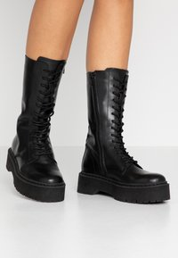 Zign - Platform boots - black - 0