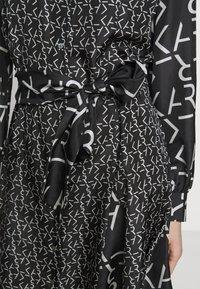 KARL LAGERFELD - FUTURE LOGO DRESS - Robe chemise - digital karl black - 5