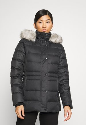 TYRA - Down coat - black