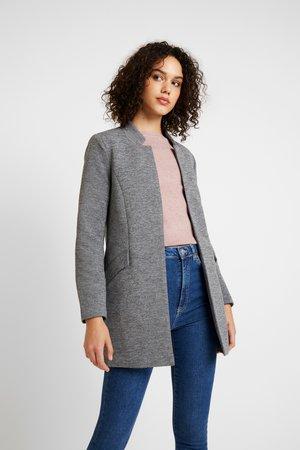 ONLLINDA COATIGAN - Halflange jas - medium grey melange