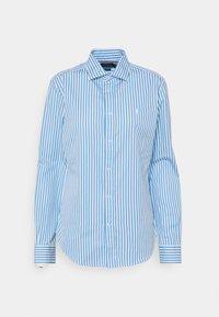 GEORGIA LONG SLEEVE - Košile - blue/white