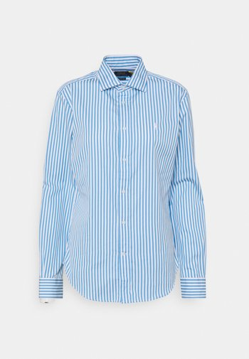 GEORGIA LONG SLEEVE - Camicia - blue/white