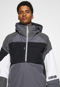 Burton - BANSHY CASTLEROCK  - Snowboard jacket - castlerock/multi - 4