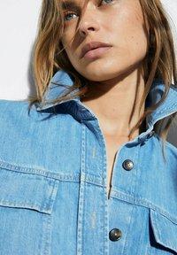Massimo Dutti - Button-down blouse - blue - 3