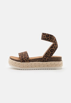 JLAYNE - Sandals - brown