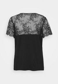 Morgan - DVOLA - Camiseta estampada - noir - 1