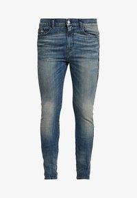 Diesel - D-AMNY-SP - Jeans Skinny Fit - dark-blue denim - 4