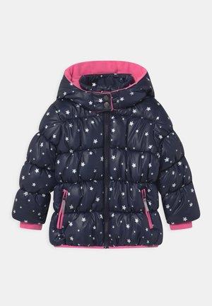 KIDS GIRLS HIGHNECK - Winter jacket - nachtblau