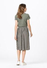 HALLHUBER - A-line skirt - fango - 2