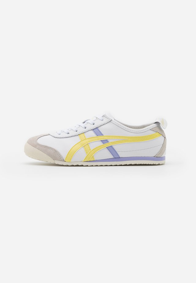 MEXICO 66 - Sneakersy niskie - white/acid yellow