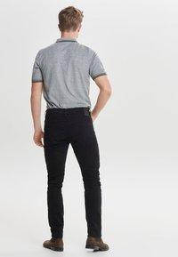 Only & Sons - LOOM - Slim fit -farkut - black denim - 2