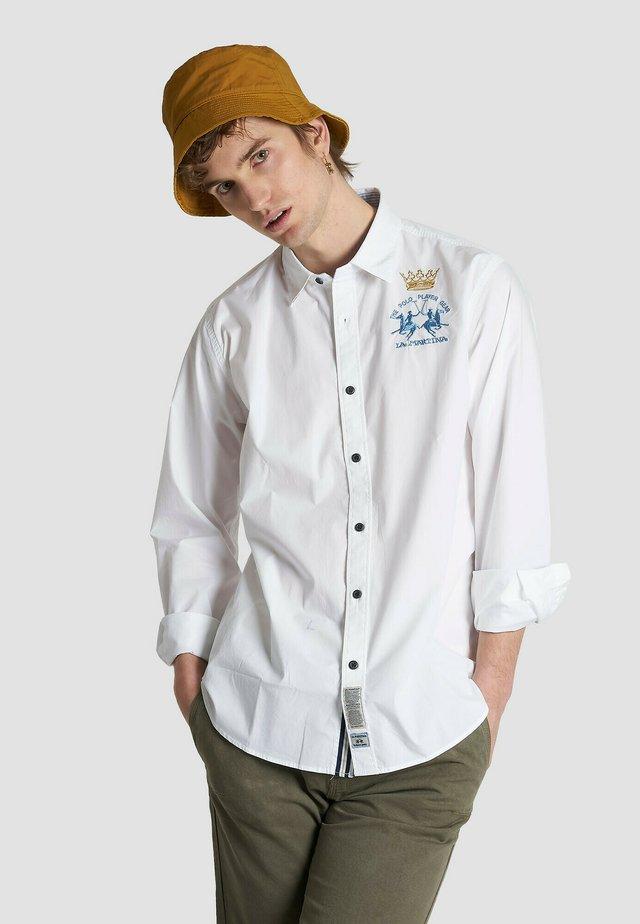 RINGO - Camicia - optic white