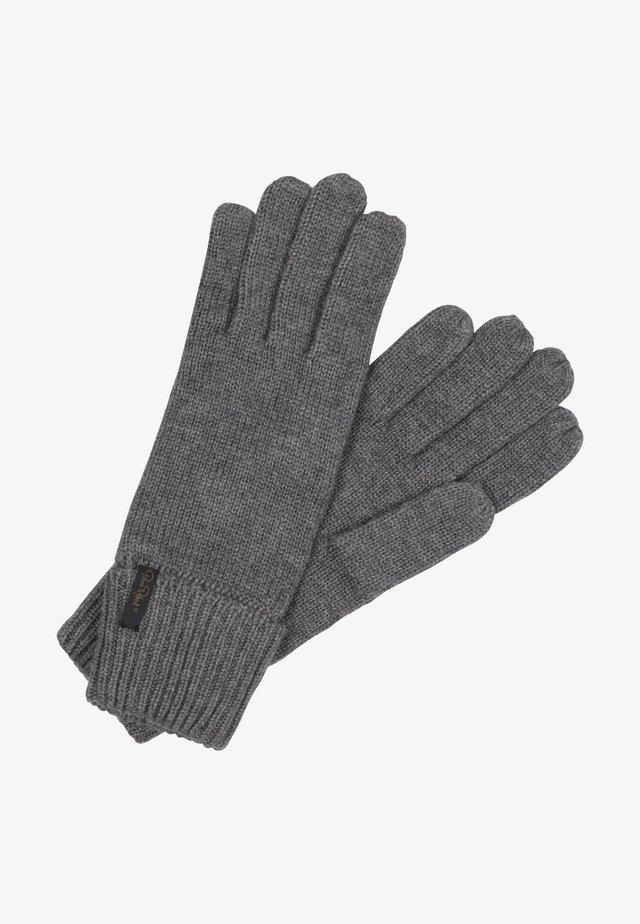 Gloves - grey melange