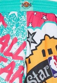Mitchell & Ness - NBA ALL STAR SHORT - Sports shorts - green/grizzlies teal - 6