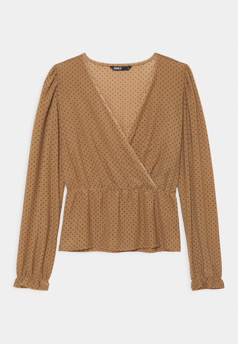 ONLY - ONLCAMMI - Long sleeved top - toasted coconut
