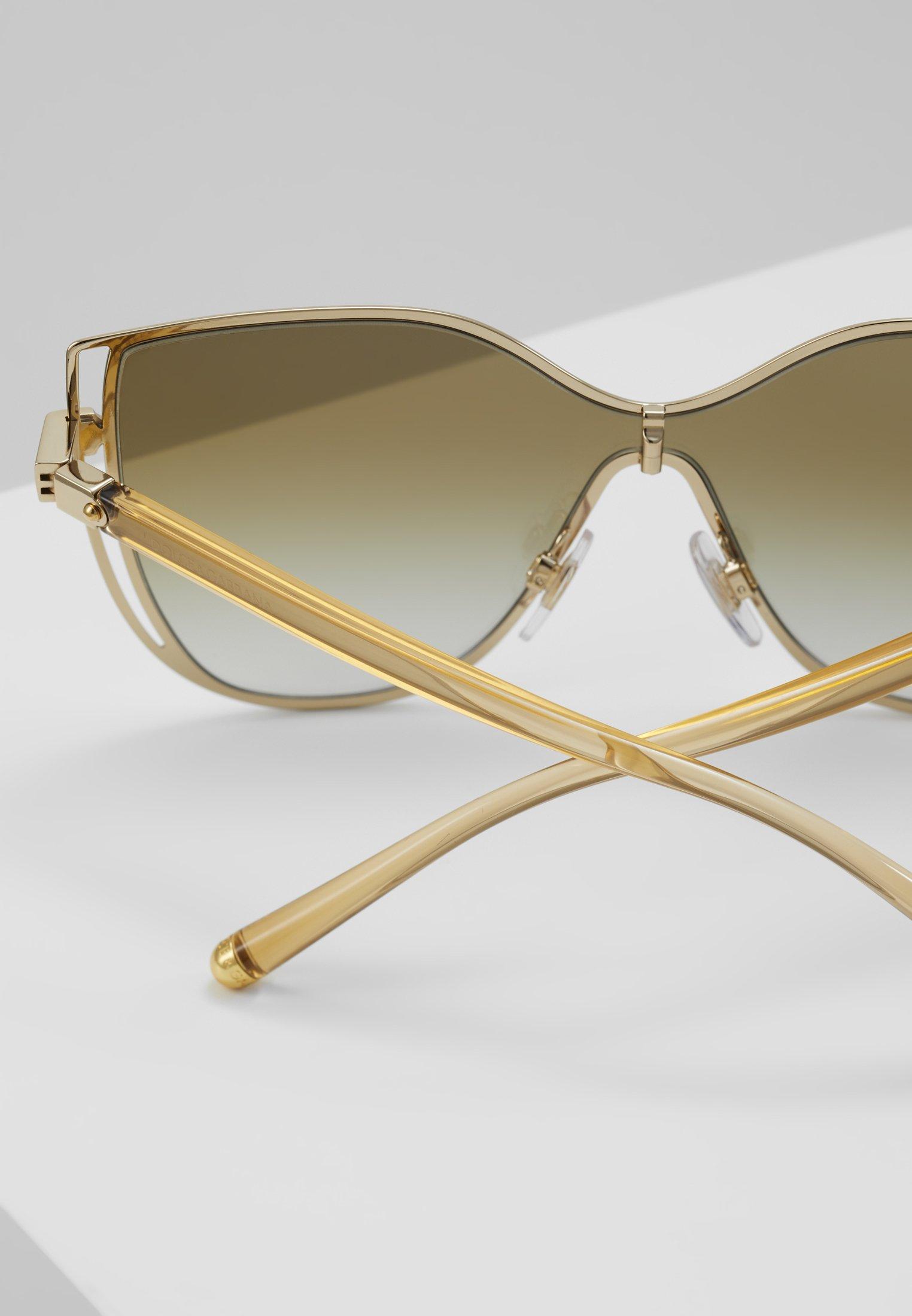 Ograniczony nowy Gorąca wyprzedaż Dolce&Gabbana Okulary przeciwsłoneczne - gold | Akcesoria damskie 2020 HwvKJ