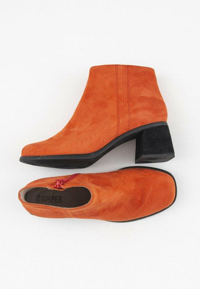 Korte laarzen - orange