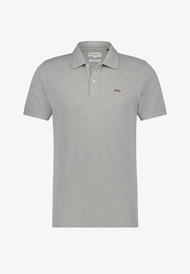 Polo shirt - medium grey