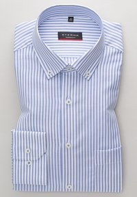 Eterna - MODERN FIT - Shirt - blau - 4