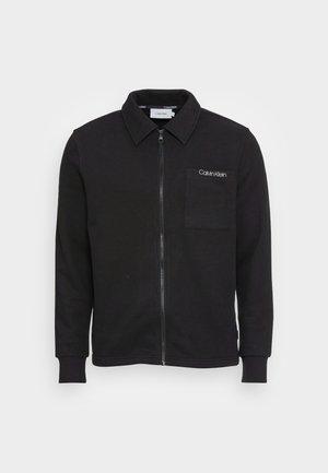 JACKET - Mikina na zip - black