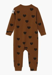Mini Rodini - BABY HEARTS UNISEX - Jumpsuit - brown - 1