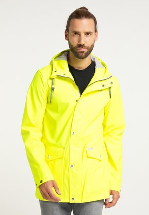 Waterproof jacket - neon gelb