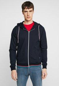 Tiffosi - DRAKE - Zip-up hoodie - blue - 0