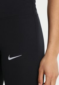Nike Performance - POWER ESSENTIAL DRI-FIT - Tights - black/reflective silver - 3