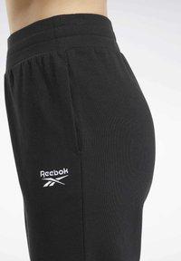 Reebok Classic - CLASSICS JOGGERS - Tracksuit bottoms - black - 4