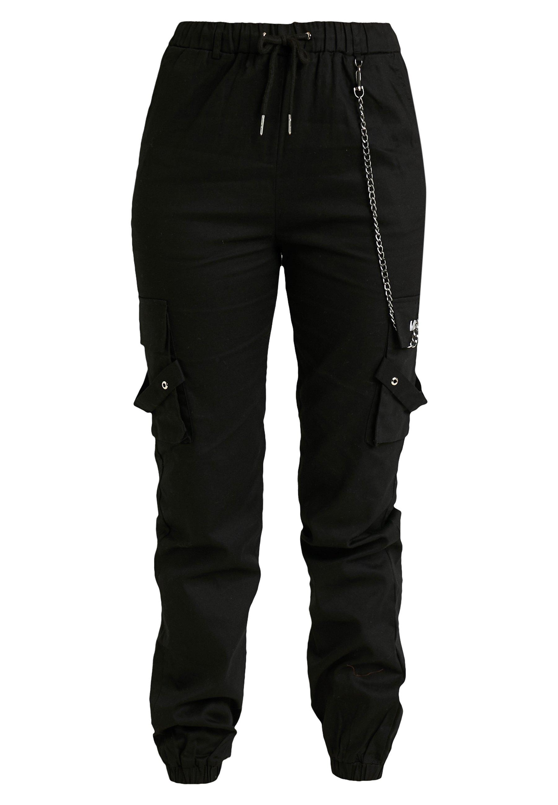 Femme EMBROIDERED CHAIN - Pantalon classique