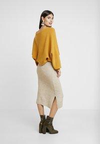 Anna Field - Spódnica ołówkowa  - beige - 2