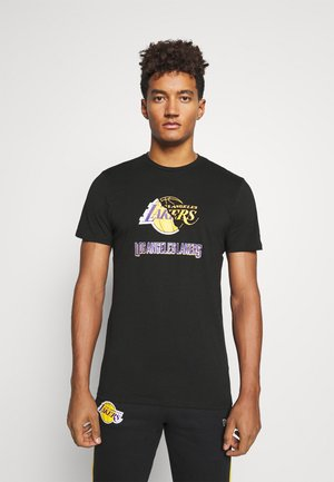 LOS ANGELES LAKERS NBA SPLIT LOGO TEE - Article de supporter - black